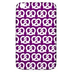 Purple Pretzel Illustrations Pattern Samsung Galaxy Tab 3 (8 ) T3100 Hardshell Case