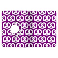 Purple Pretzel Illustrations Pattern Kindle Fire HDX Flip 360 Case