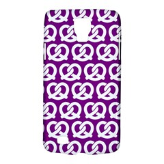 Purple Pretzel Illustrations Pattern Galaxy S4 Active