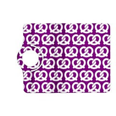 Purple Pretzel Illustrations Pattern Kindle Fire HD (2013) Flip 360 Case