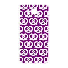 Purple Pretzel Illustrations Pattern Samsung Galaxy Alpha Hardshell Back Case