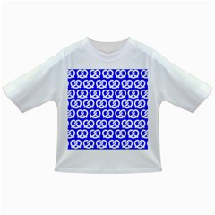 Blue Pretzel Illustrations Pattern Infant/toddler T Shirts