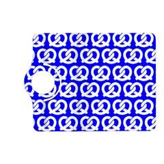 Blue Pretzel Illustrations Pattern Kindle Fire HD (2013) Flip 360 Case