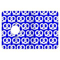 Blue Pretzel Illustrations Pattern Kindle Fire Hdx Flip 360 Case