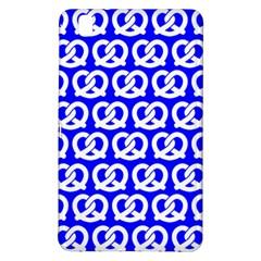 Blue Pretzel Illustrations Pattern Samsung Galaxy Tab Pro 8.4 Hardshell Case