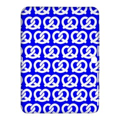 Blue Pretzel Illustrations Pattern Samsung Galaxy Tab 4 (10.1 ) Hardshell Case