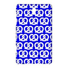 Blue Pretzel Illustrations Pattern Samsung Galaxy Tab S (8.4 ) Hardshell Case