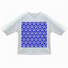 Blue Pretzel Illustrations Pattern Infant/toddler T Shirts