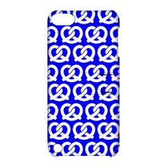 Blue Pretzel Illustrations Pattern Apple iPod Touch 5 Hardshell Case with Stand