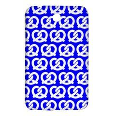 Blue Pretzel Illustrations Pattern Samsung Galaxy Tab 3 (7 ) P3200 Hardshell Case