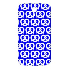 Blue Pretzel Illustrations Pattern Samsung Galaxy Mega I9200 Hardshell Back Case