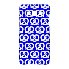Blue Pretzel Illustrations Pattern Samsung Galaxy A5 Hardshell Case
