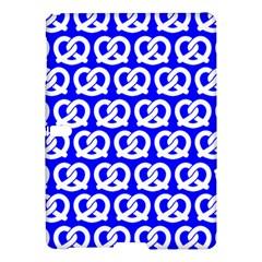 Blue Pretzel Illustrations Pattern Samsung Galaxy Tab S (10 5 ) Hardshell Case
