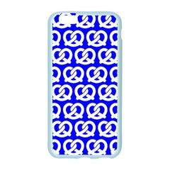 Blue Pretzel Illustrations Pattern Apple Seamless iPhone 6/6S Case (Color)