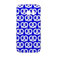 Blue Pretzel Illustrations Pattern Galaxy S6 Edge