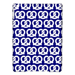 Navy Pretzel Illustrations Pattern Ipad Air Hardshell Cases