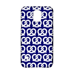 Navy Pretzel Illustrations Pattern Samsung Galaxy S5 Hardshell Case