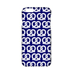 Navy Pretzel Illustrations Pattern Apple Iphone 6/6s Hardshell Case