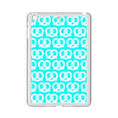 Aqua Pretzel Illustrations Pattern iPad Mini 2 Enamel Coated Cases