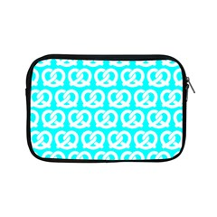 Aqua Pretzel Illustrations Pattern Apple iPad Mini Zipper Cases