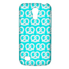 Aqua Pretzel Illustrations Pattern Galaxy S4 Mini