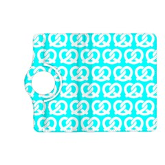 Aqua Pretzel Illustrations Pattern Kindle Fire HD (2013) Flip 360 Case