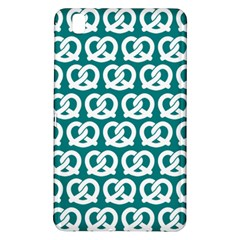 Teal Pretzel Illustrations Pattern Samsung Galaxy Tab Pro 8 4 Hardshell Case