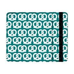 Teal Pretzel Illustrations Pattern Samsung Galaxy Tab Pro 8.4  Flip Case