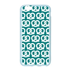 Teal Pretzel Illustrations Pattern Apple Seamless iPhone 6/6S Case (Color)