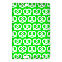 Neon Green Pretzel Illustrations Pattern Kindle Fire HD (2013) Hardshell Case
