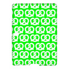 Neon Green Pretzel Illustrations Pattern Samsung Galaxy Tab S (10.5 ) Hardshell Case