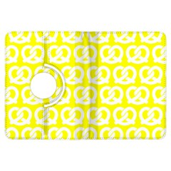 Yellow Pretzel Illustrations Pattern Kindle Fire Hdx Flip 360 Case
