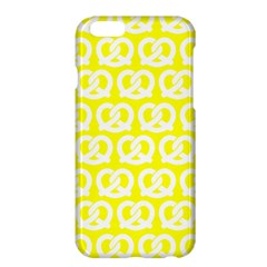 Yellow Pretzel Illustrations Pattern Apple iPhone 6 Plus/6S Plus Hardshell Case