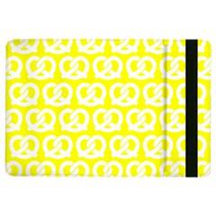 Yellow Pretzel Illustrations Pattern Ipad Air 2 Flip