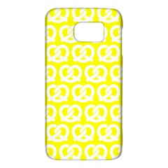Yellow Pretzel Illustrations Pattern Galaxy S6