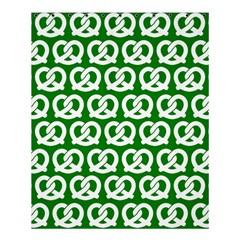 Green Pretzel Illustrations Pattern Shower Curtain 60  X 72  (medium)