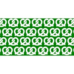 Green Pretzel Illustrations Pattern YOU ARE INVITED 3D Greeting Card (8x4)