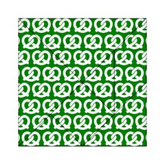 Green Pretzel Illustrations Pattern Acrylic Tangram Puzzle (6  x 6 )