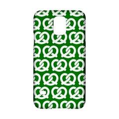 Green Pretzel Illustrations Pattern Samsung Galaxy S5 Hardshell Case