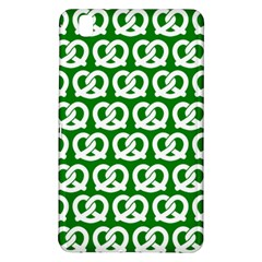 Green Pretzel Illustrations Pattern Samsung Galaxy Tab Pro 8.4 Hardshell Case