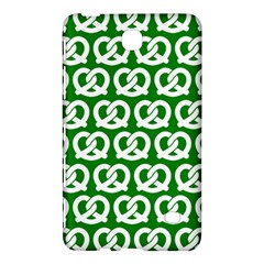 Green Pretzel Illustrations Pattern Samsung Galaxy Tab 4 (7 ) Hardshell Case