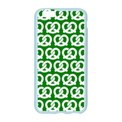 Green Pretzel Illustrations Pattern Apple Seamless iPhone 6/6S Case (Color)