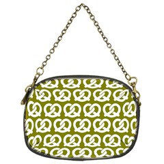 Olive Pretzel Illustrations Pattern Chain Purses (One Side)