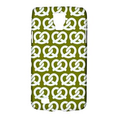 Olive Pretzel Illustrations Pattern Galaxy S4 Active