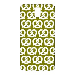 Olive Pretzel Illustrations Pattern Samsung Galaxy Note 3 N9005 Hardshell Back Case