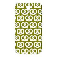 Olive Pretzel Illustrations Pattern Samsung Galaxy Mega I9200 Hardshell Back Case