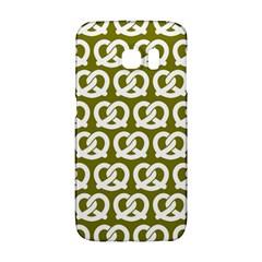 Olive Pretzel Illustrations Pattern Galaxy S6 Edge