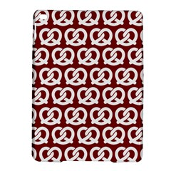 Red Pretzel Illustrations Pattern iPad Air 2 Hardshell Cases