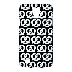 Black And White Pretzel Illustrations Pattern Galaxy S4 Active