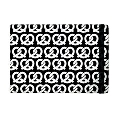 Black And White Pretzel Illustrations Pattern iPad Mini 2 Flip Cases